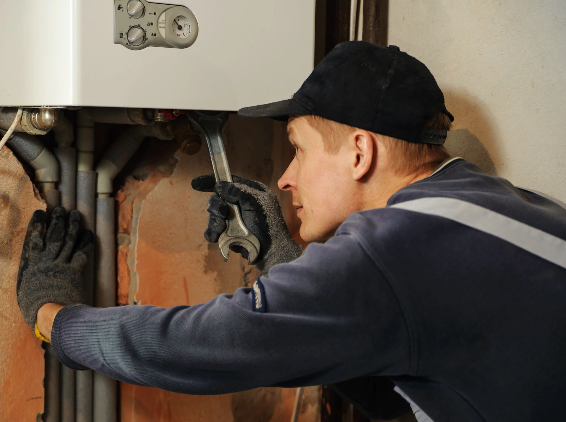 plumbing heating gas repairs
